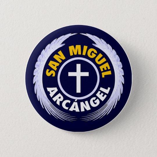 San Miguel Arcangel Button