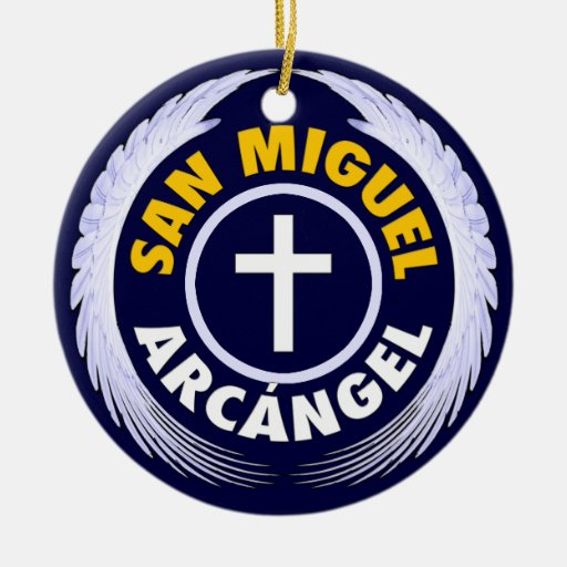San Miguel Arcangel Christmas Tree Ornaments