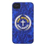 San Miguel Arcangel iPhone 4 Case-Mate Cárcasas