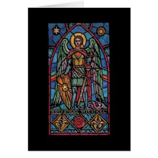 San Miguel - arcángel Tarjeta De Felicitación