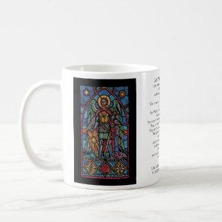 San Miguel - arcángel Taza
