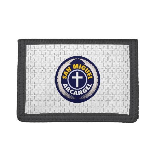 San Miguel Arcangel Tri-fold Wallet