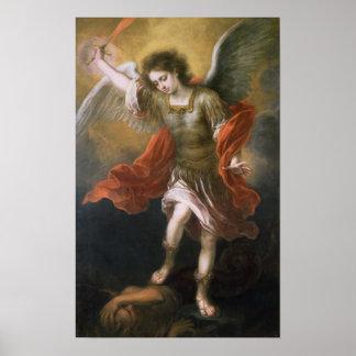 San Miguel banishes al diablo al abismo Impresiones