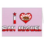 San Miguel, CA Tarjetas