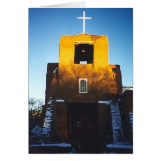 San Miguel Chapel Card