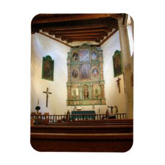San Miguel Chapel Rectangular Photo Magnet