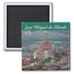 San Miguel de Allende 1 2 Inch Square Magnet