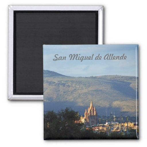 San Miguel de Allende 3 2 Inch Square Magnet
