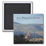 San Miguel de Allende 3 Imán Cuadrado
