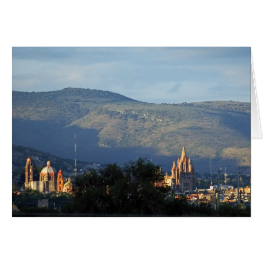 San Miguel de Allende and Hills Card