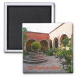 San Miguel de Allende Courtyard 2 Inch Square Magnet