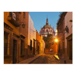 San Miguel de Allende, México. Crédito como: Nancy Tarjeta Postal