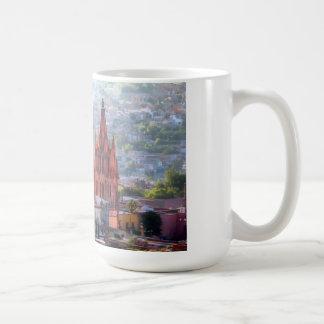 San Miguel de Allende, México, taza de café