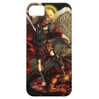 San Miguel el arcángel iPhone 5 Fundas