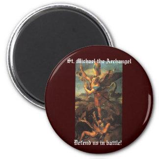 San Miguel el arcángel Imán Para Frigorífico