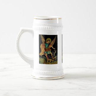 San Miguel el arcángel Jarra De Cerveza