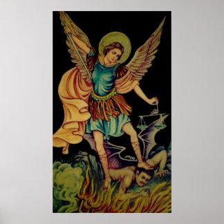 San Miguel el arcángel Poster