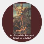San Miguel el arcángel Pegatinas