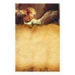 San Miguel el arcángel, pergamino de Brown Papeleria De Diseño