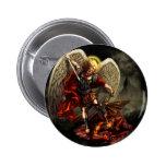 San Miguel el arcángel Pin Redondo 5 Cm