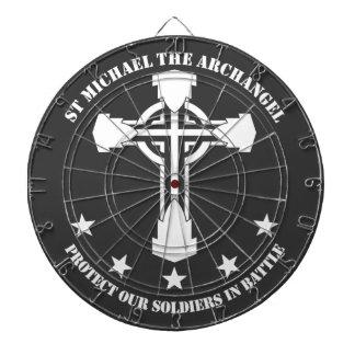 San Miguel el arcángel - plantilla blanca