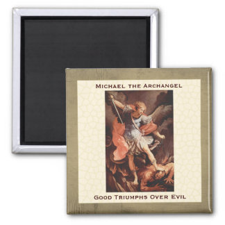 San Miguel el arcángel, por Reni Imán Cuadrado