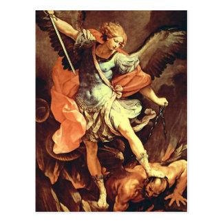San Miguel el arcángel por Reni Tarjetas Postales