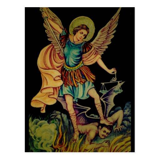 San Miguel el arcángel Postales