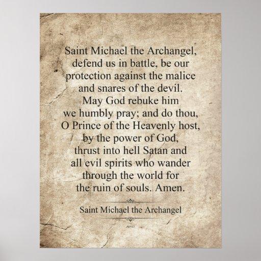 San Miguel el arcángel Posters