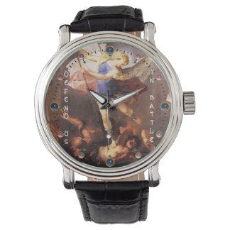 San Miguel el arcángel Reloj