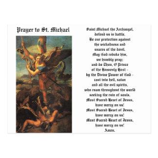 San Miguel el arcángel Tarjetas Postales
