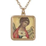 San Miguel el colgante ruso del icono del arcángel