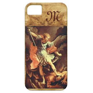 San Miguel el monograma del arcángel iPhone 5 Protector