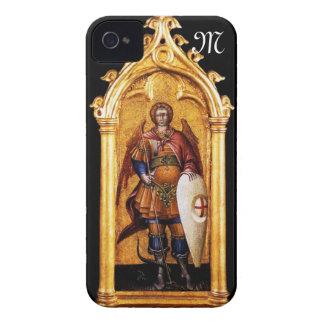 San Miguel el monograma del arcángel iPhone 4 Funda