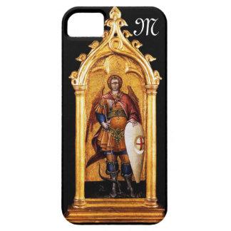 San Miguel el monograma del arcángel iPhone 5 Cárcasas