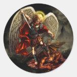 San Miguel el pegatina del arcángel