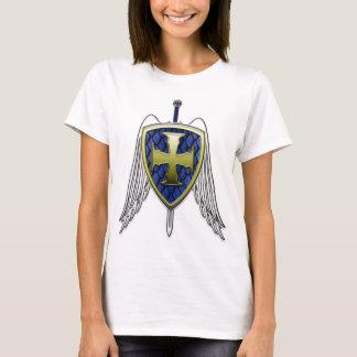 San Miguel - escudo de la escala del dragón Playera