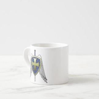 San Miguel - escudo de la escala del dragón Taza De Espresso