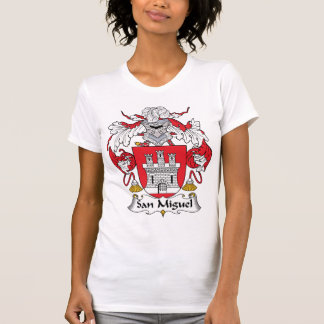 San Miguel Family Crest Tee Shirt