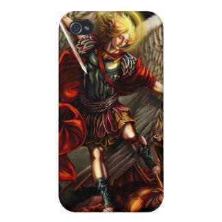 San Miguel la caja de la mota del arcángel iPhone 4/4S Funda