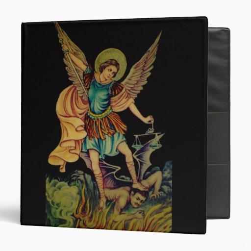 San Miguel la carpeta del negro del arcángel