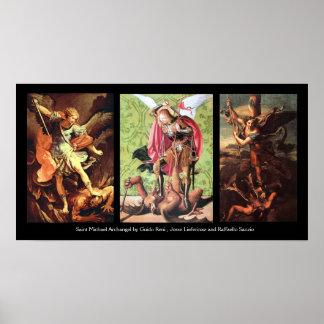 San Miguel la COLECCIÓN del ARCÁNGEL Posters