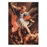 San Miguel la tarjeta del rezo del arcángel Plantillas De Tarjetas De Visita