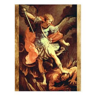 San Miguel la tarjeta del rezo del arcángel Tarjetas Postales