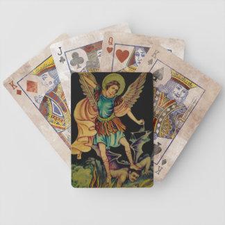 San Miguel los naipes del arcángel Barajas De Cartas