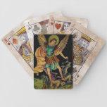 San Miguel los naipes del arcángel Baraja De Cartas