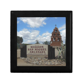 San Miguel Mission Bell Tower and Sign Gift Box