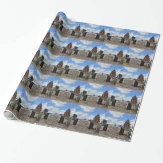 San Miguel Mission Bell Tower and Sign Wrapping Paper