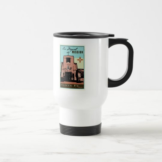 San Miguel Mission Travel Mug