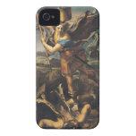 San Miguel que abruma al demonio, 1518 Case-Mate iPhone 4 Protector